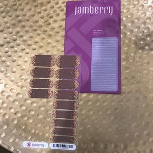 Jamberry partial sheet - Apple Cider